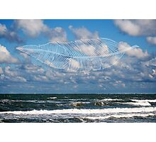 Clouds & Feathers Photographic Print