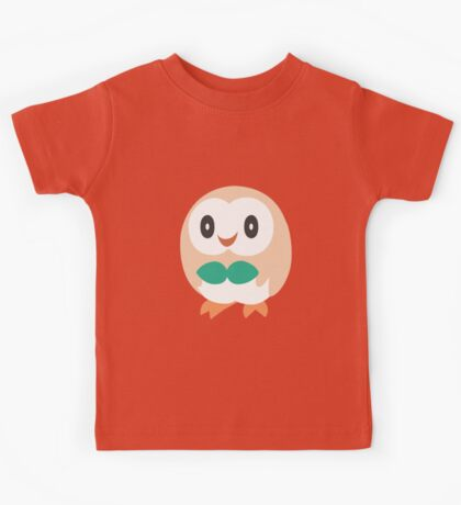 Rowlet - Pokemon Sun and Moon Kids Tee