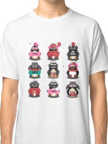 Merry Christmas Penguin Classic T-Shirt