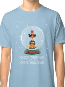 Christmas Rooster Classic T-Shirt