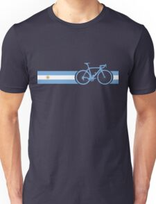 Bike Stripes Argentina Unisex T-Shirt