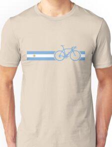 Bike Stripes Argentina Unisex T-Shirt