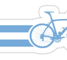 Bike Stripes Argentina Sticker