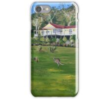 Roo Retreat Holiday Stay iPhone Case/Skin