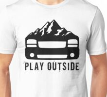 Play Outside: Sierra in black Unisex T-Shirt