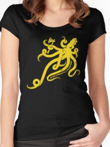 Asha Kraken Women's Fitted Scoop T-Shirt