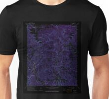 USGS TOPO Map Arkansas AR Hasty 258690 1967 24000 Inverted Unisex T-Shirt