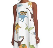 Dino Activists A-Line Dress