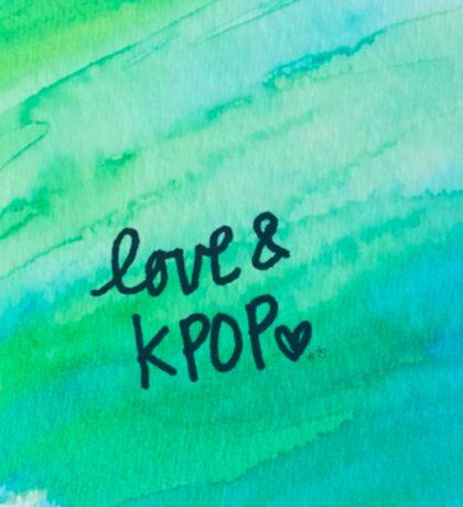 Love & KPop Sticker
