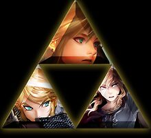 Link & Triforce by Lif3s