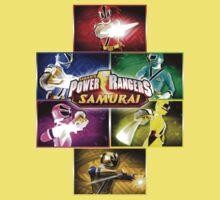 POWER RANGERS SAMURAI MORPH One Piece - Short Sleeve