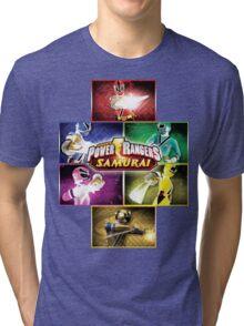 POWER RANGERS SAMURAI MORPH Tri-blend T-Shirt