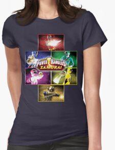 POWER RANGERS SAMURAI MORPH Womens Fitted T-Shirt