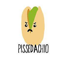 Pissed-achio Photographic Print