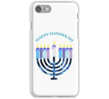 Happy Hanukkah Menorah iPhone Case/Skin