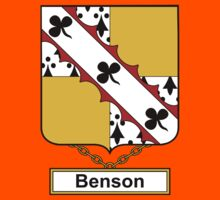 Benson Coat of Arms (English) Kids Clothes