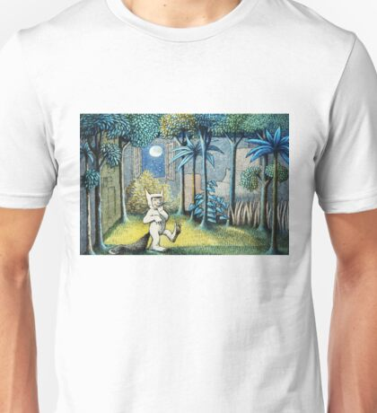 Where the Wild Things Are - Max in the jungle Unisex T-Shirt