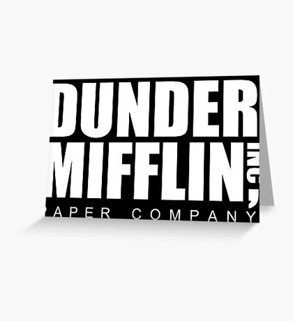 DUNDER Paper Company Greeting Card