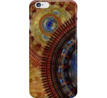 Steampunk horolog  iPhone Case/Skin