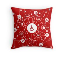 Medicine the scheme Throw Pillow
