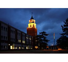 Pulliam Hall Clock Tower Photographic Print