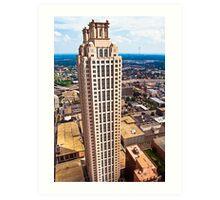 Above The Rest - 191 Peachtree On The Atlanta Skyline Art Print