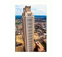 Above The Rest - 191 Peachtree On The Atlanta Skyline Art Print