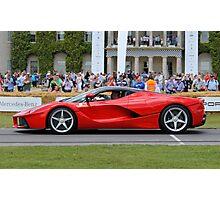 Ferrari LaFerrari - Red Photographic Print