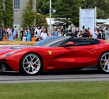 Ferrari F12 TRS convertible concept by Tom Gregory