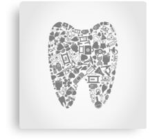 Tooth Canvas Print