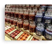 Yankee candle store Canvas Print