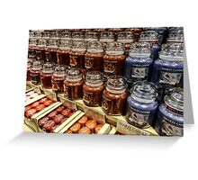 Yankee candle store Greeting Card