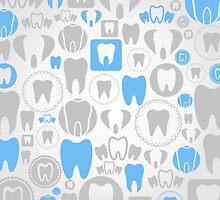 Tooth a background by Aleksander1