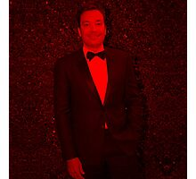 Jimmy Fallon - Celebrity (Square) Photographic Print