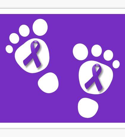 World Prematurity Day - Baby Feet Sticker
