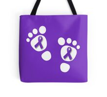 World Prematurity Day - Baby Feet Tote Bag