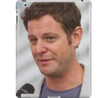 Matt Baker at the Southampton Boat show 2014 iPad Case/Skin