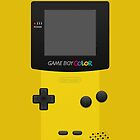 Yellow Nintendo Gameboy Color by ~ *