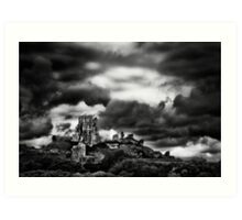 Corfe Castle Art Print