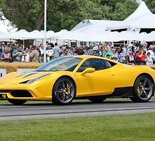 Ferrari 458 Speciale by Tom Gregory