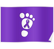 World Prematurity Day - Baby Foot Poster