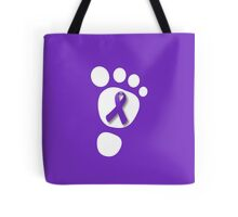 World Prematurity Day - Baby Foot Tote Bag