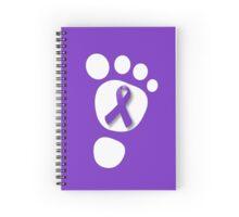 World Prematurity Day - Baby Foot Spiral Notebook