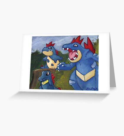 Catch Them Now Greeting Card