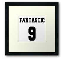 Fantastic - The 9th Doctor Framed Print