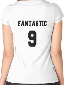 Fantastic - The 9th Doctor Women's Fitted Scoop T-Shirt