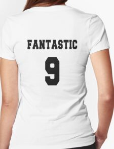 Fantastic - The 9th Doctor Womens Fitted T-Shirt
