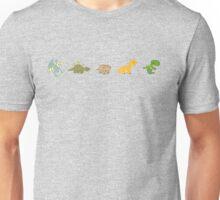 Dinosaur Line-up  Unisex T-Shirt