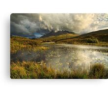 Sgurr nan Gillean. Sligachan. Isle of Skye. Scotland. Canvas Print