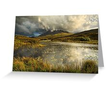 Sgurr nan Gillean. Sligachan. Isle of Skye. Scotland. Greeting Card